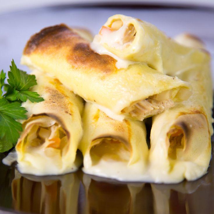 Mario Batali's Chicken Cannelloni