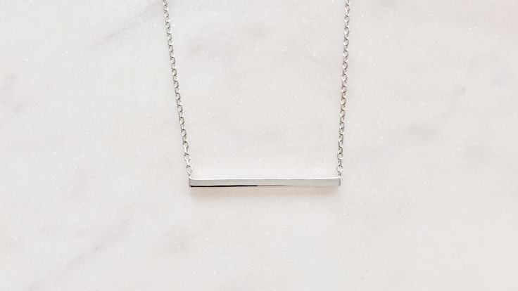 Sterling silver in the balance necklace bohchicstore.com