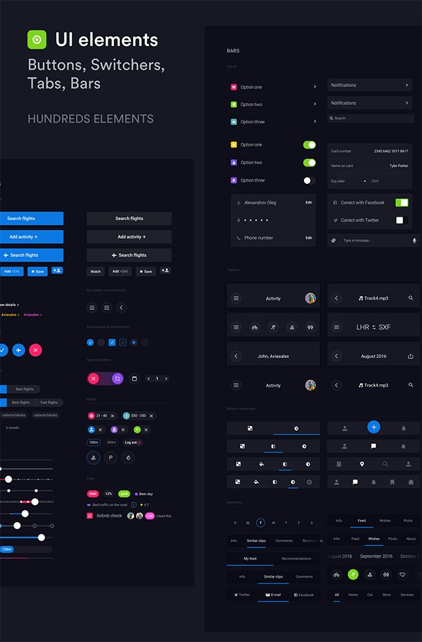 Description Pin is a huge set of pre-made UI elements that will help you to spee…