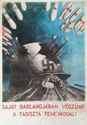 Ék Sándor: Saját barlangjában végzünk a fasiszta fenevaddal! (1945)