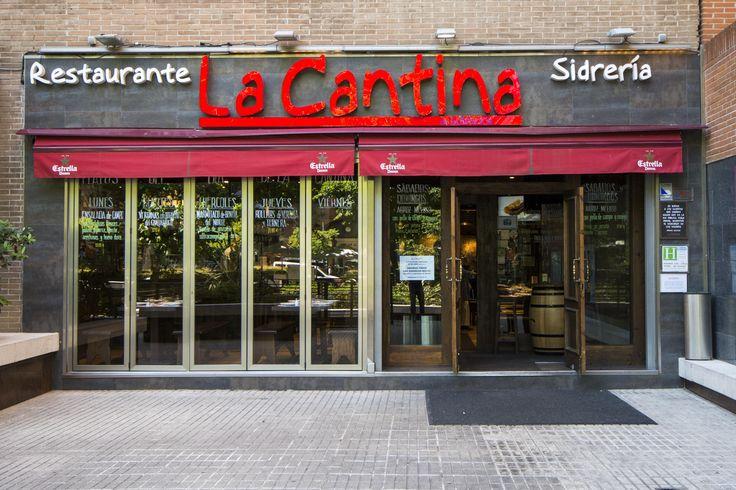 La fachada de La Cantina.