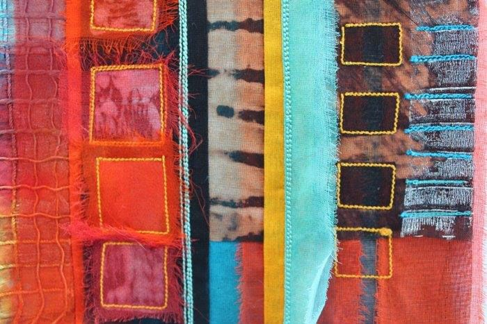 Ruth Issett uses print and textile techniques