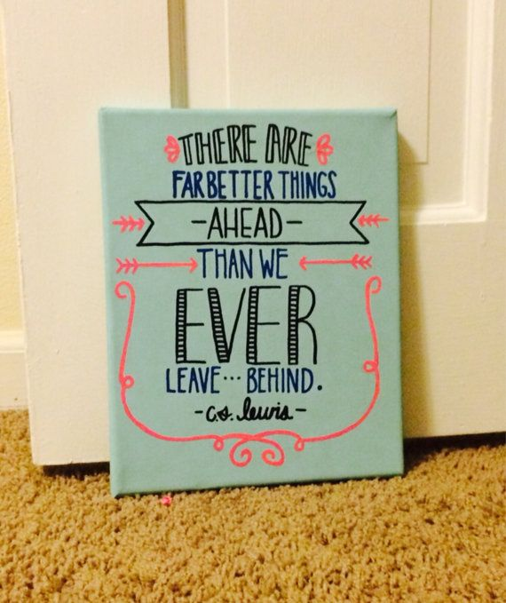 "Cs lewis canvas, ""far better things"""