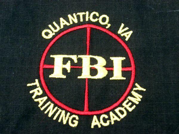 FBI Quantico Virginia Training Academy polo shirt.
