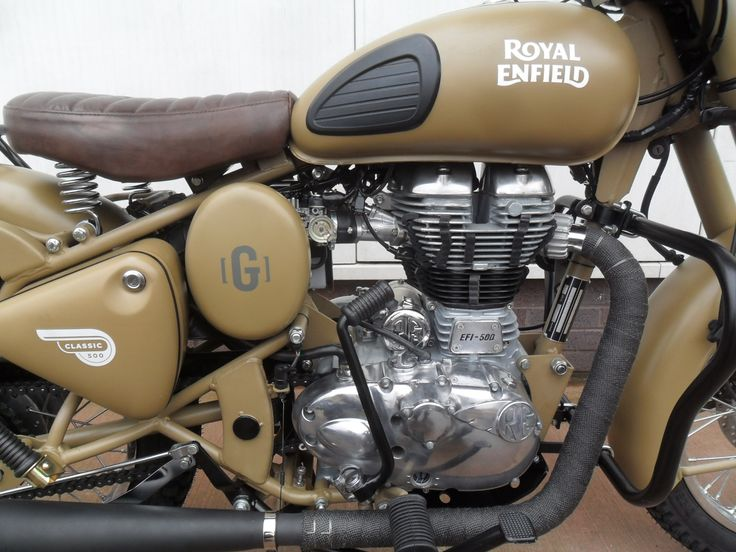 Royal Enfield Classic 500 Desert Storm By Gusto