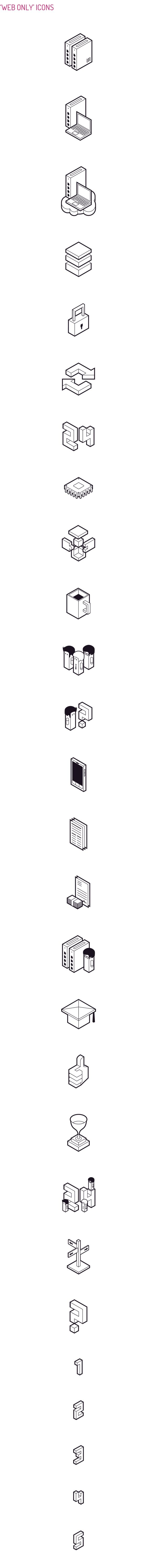 DATERA - Icon Design by Perconte , via Behance