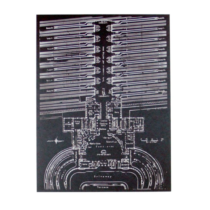 44 best design blueprints images on pinterest technical union terminal blueprint screen print malvernweather Image collections