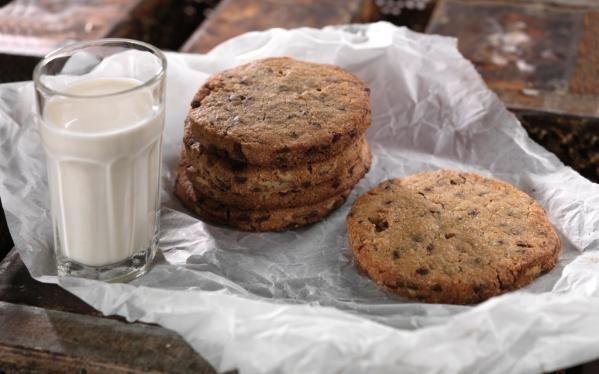 Oppskrift på Cookies fra Bakeriet i Lom