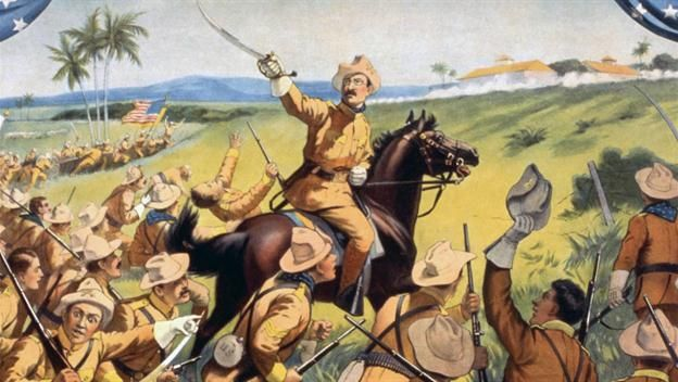 Wk 15 - Explore the role of Teddy Roosevelt and the Rough Riders during the Spanish-American War.
