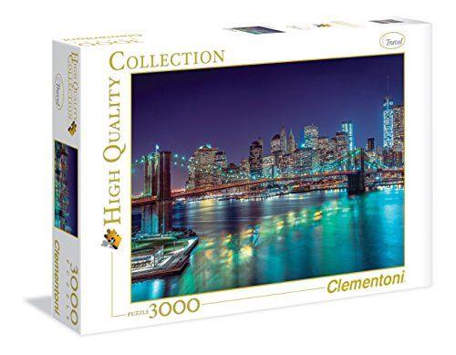 Clementoni New York At Night Puzzle (3000 Piece)