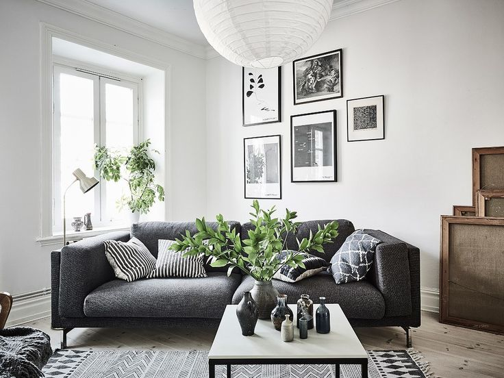 Inspirations And Living Room Ideas From A Scandinavian Home Tour