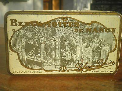 boite BERGAMOTES DE NANCY Nancy Laxou Lefèvre Denise 1955- petits frais d'envoi