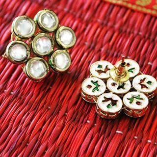 Do the Diwali with Charismatic Kundan Jewellery!