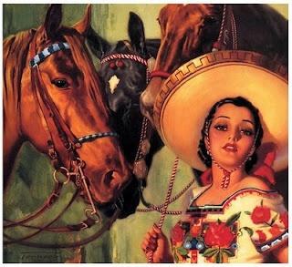 Beautiful Mexican Art Illustrations - counter culture | art | love | rock | cherry pie