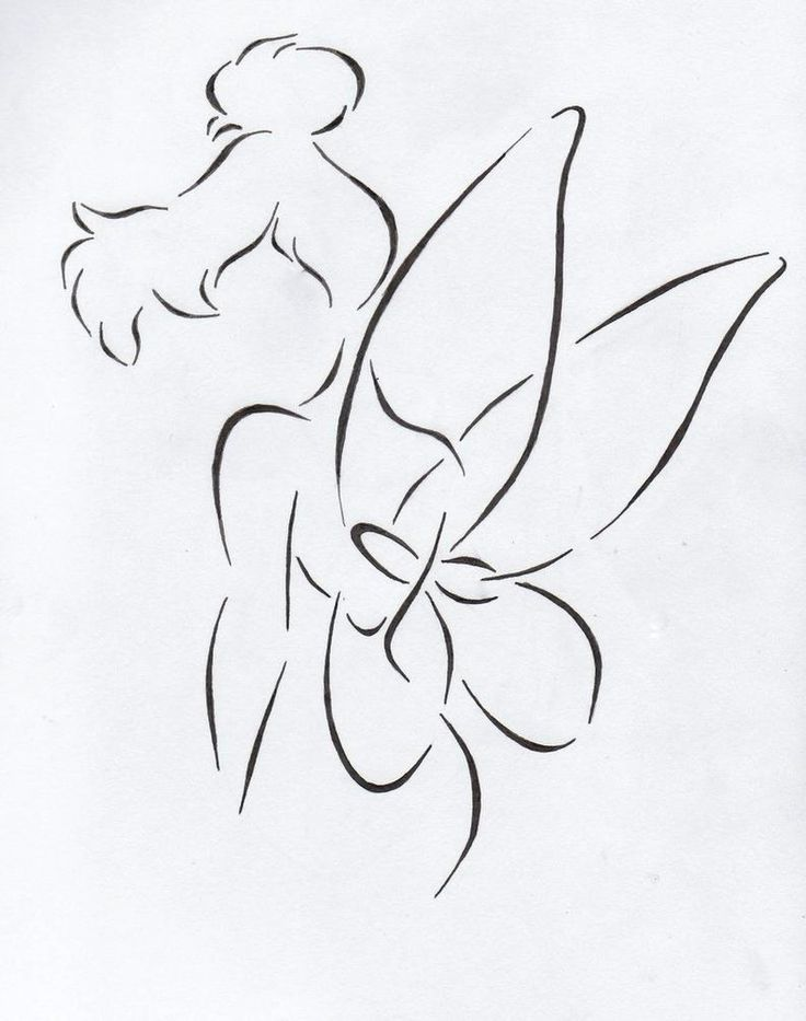if i ever got a tink tattoo it would be something like this... And I would LOVE to add a 13.1 for the Tinker Bell Half Marathon!