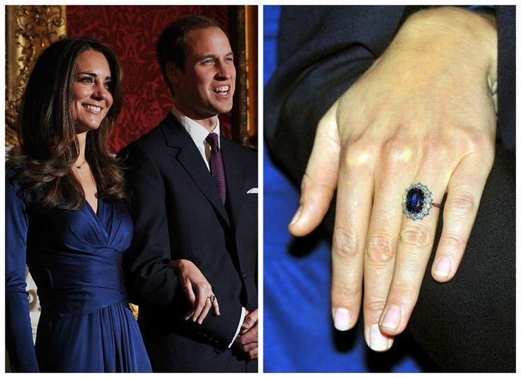 Pierścionek zaręczynowy Kate Middleton