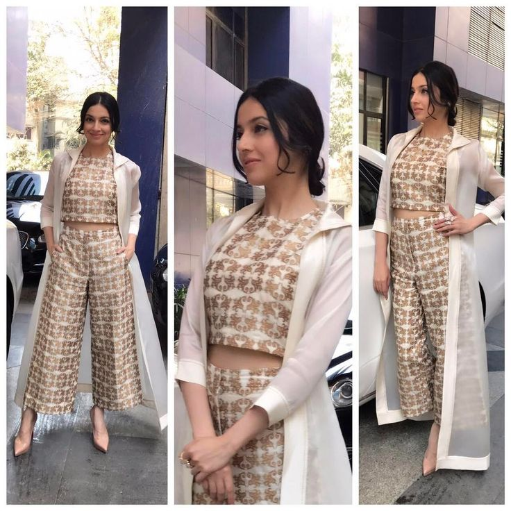 "384 Likes, 5 Comments - Who Wore What When (@who_wore_what_when) on Instagram: ""Chic inside out ! @divyakhoslakumar looking stylish as ever!  Outfit : @avni_bhuva  Jewellery :…"""