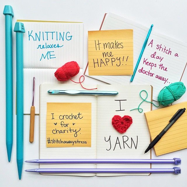 Knitting What Does No Stitch Mean : 19 best images about Stitch Away Stress on Pinterest A project, Crafts and ...