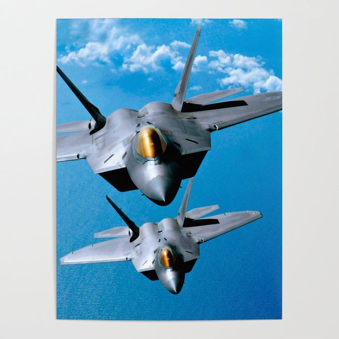 Lockheed Martin F-35  Air Force Military Airplane  HD POSTER