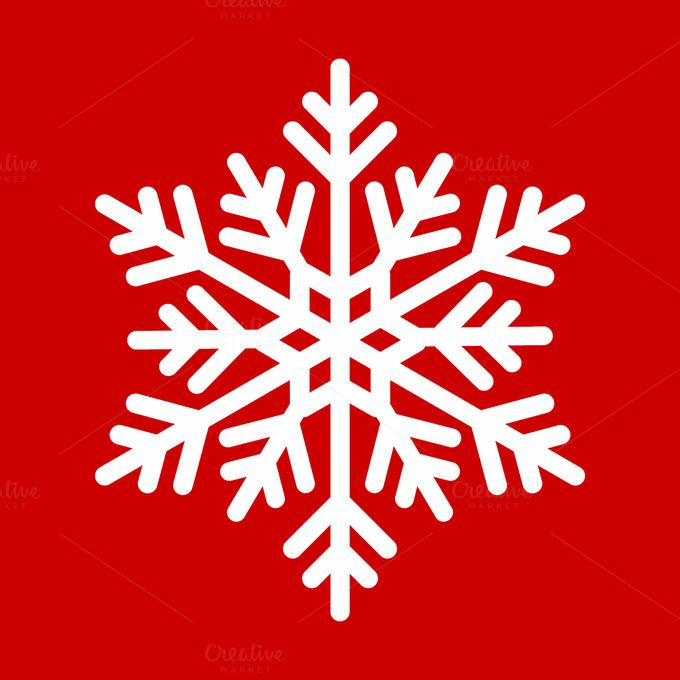 Snowflakes.clipping path inside by ptystockphoto on @creativemarket