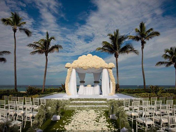 Beachfront Oceanfront Beach Wedding