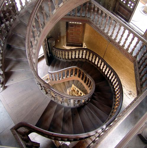 Staircase With Wooden Tower : Best images about castle stair wells tower