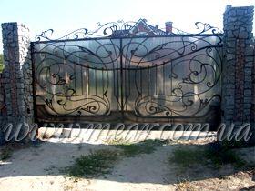 Автоматические ворота, откатные ворота, сдвижные