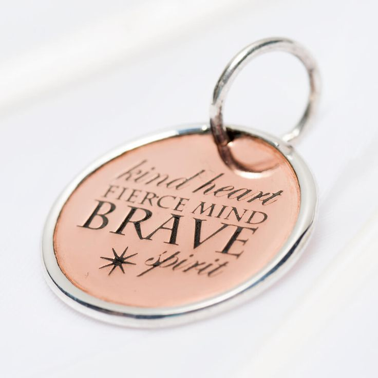 Brave spirit charm #3570 available now in stores and online > https://palasjewellery.com.au/stockist-australia/ #palasjewellery #bebrave #befearless #bravery