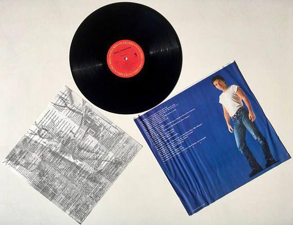 Bruce Springsteen Born In The U S A Lp Vinyl Record Album Columbia Qc 38653 Rock Pop Rock 1984 Original Pressing In 2020 Vinyl Records Bruce Springsteen Janet Jackson Rhythm Nation
