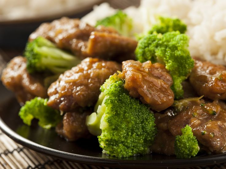 Sauté de boeuf et brocoli au sésame