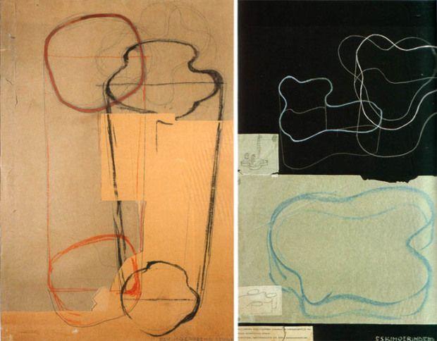 Aalto's Savoy Vase Sketches