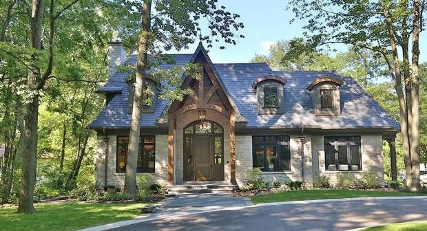 17 best images about french country cottage on pinterest for Luxury cottage homes