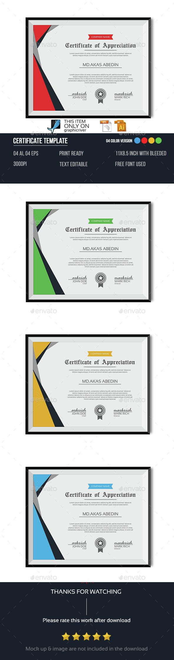 Best Certificate Of Merit Images On   Certificate