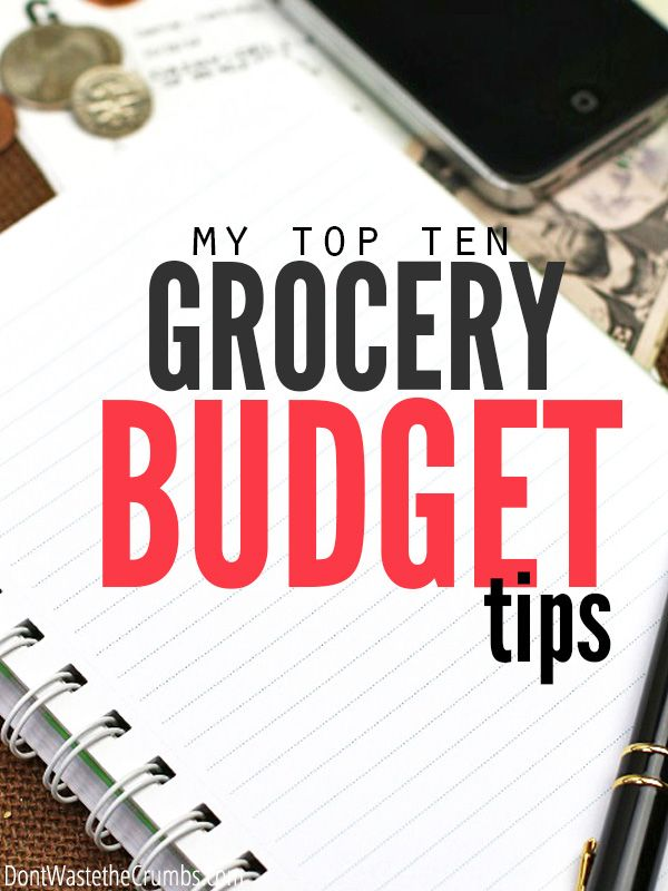 Want to save money but don't know where to start? Start with this amazing list of top 10 grocery budget tips of 2014. They're simple, practical, timeless and really work! :: DontWastetheCrumbs.com