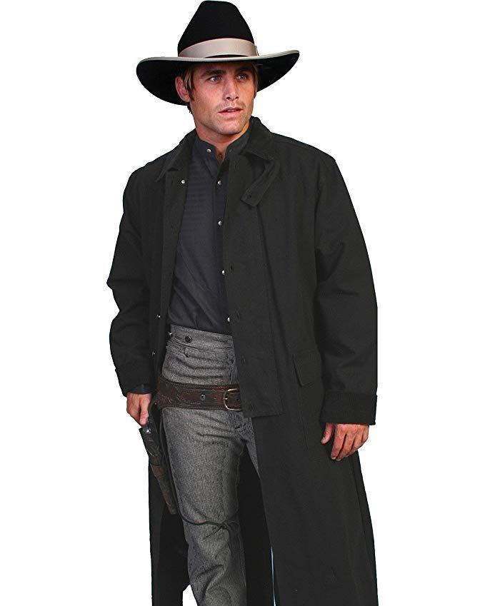00e24d37a Scully Rangewear Men's Long Canvas Duster - Rw107 Walnut Review ...