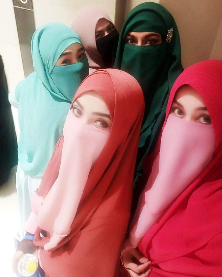 how to wear hijab and niqab