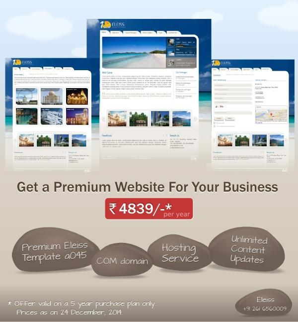 Got a #travelling business ? Here is a nice #website design for you. #eleiss #template a045. Recommended for: #ToursandTravel Agency, #BeachResorts & #Hotels, #RecreationParks
