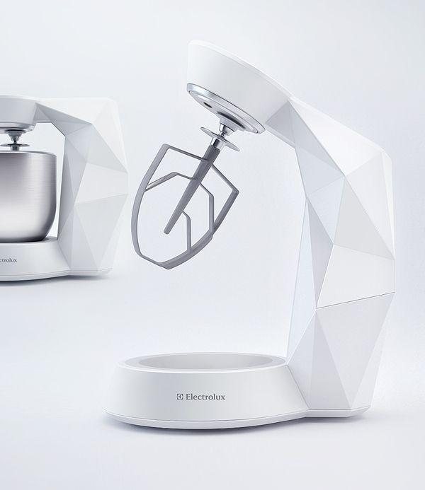 Electrolux Stand Mixer   Designer: Peter Braakhuis