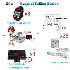 [ $93 OFF ] Medical Equipment Hospital Clinic Wireless Nurse Call Service Call System K-4-C-Usb Emergency Calling Button Dhl