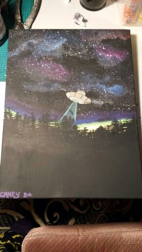 Abduction painting.