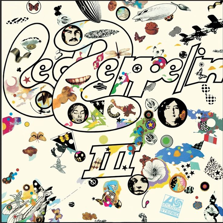 Led Zeppelin Led Zeppelin III on 180g LP Painstakingly Remastered from the…