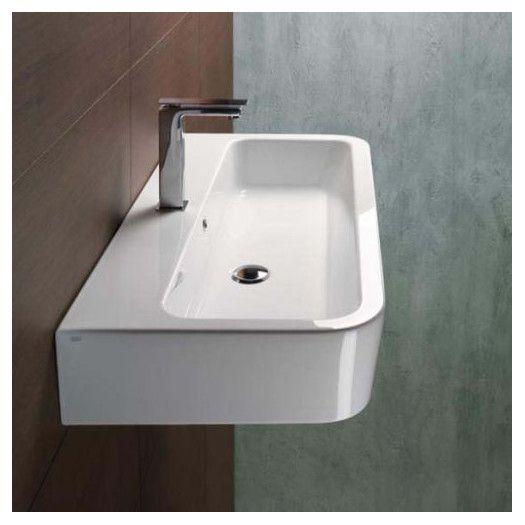 Found it at AllModern - Traccia Modern Design Curved or Vessel Bathroom Sink