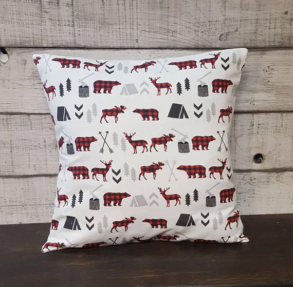 Check out this item in my Etsy shop https://www.etsy.com/ca/listing/568405923/woodland-collection-pillow-cover