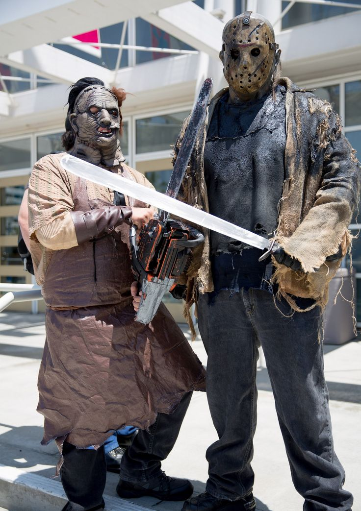 Leatherface and Jason Vorhees