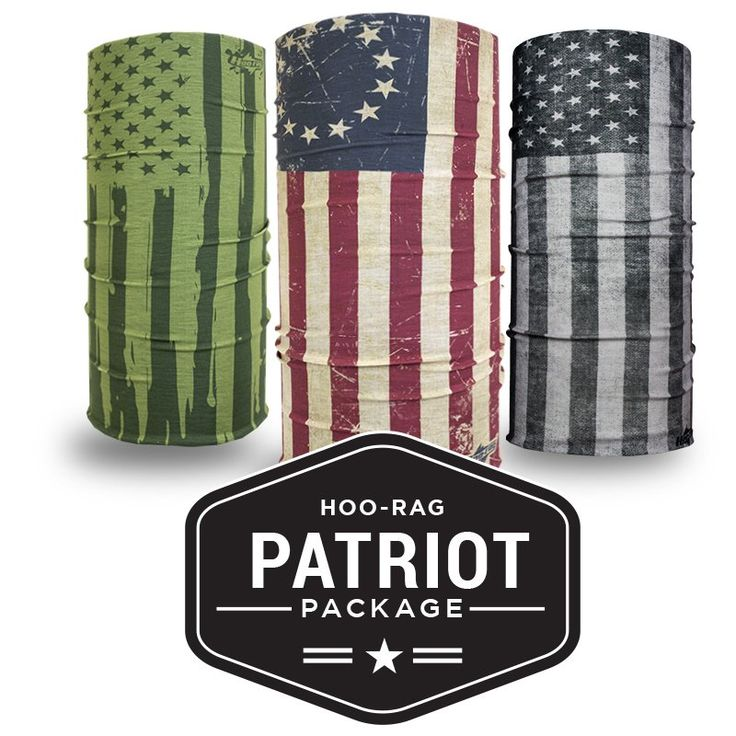The Patriot Package | Flag Face Masks