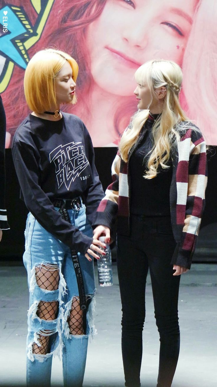 ELRIS Bella & Yukyung #엘리스 #벨라 #최윤아 #이유경