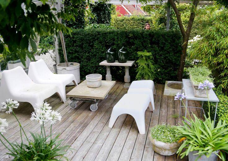 Tyylitelty puutarha | Meillä kotona