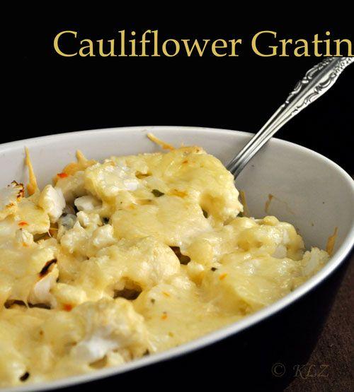 Cauliflower Gratin | Cauliflower gratin, Gratin and ...