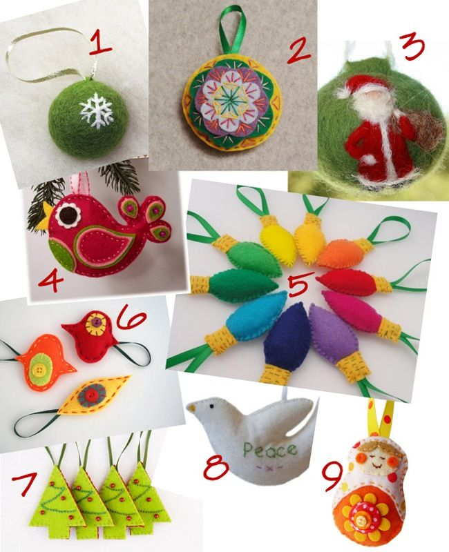 Best 724 christmas crafts part 1 bells baubles sheep for Sheep christmas ornament craft