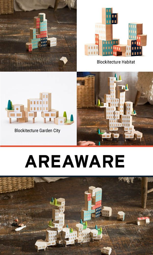 Areaware Blockitecture - architects can start young
